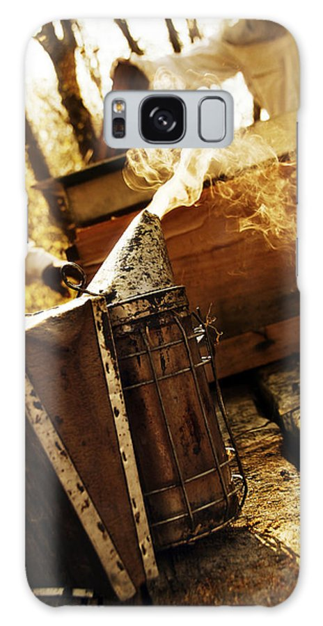 Bee Galaxy S8 Case featuring the photograph L'enfumoir by Selke Boris