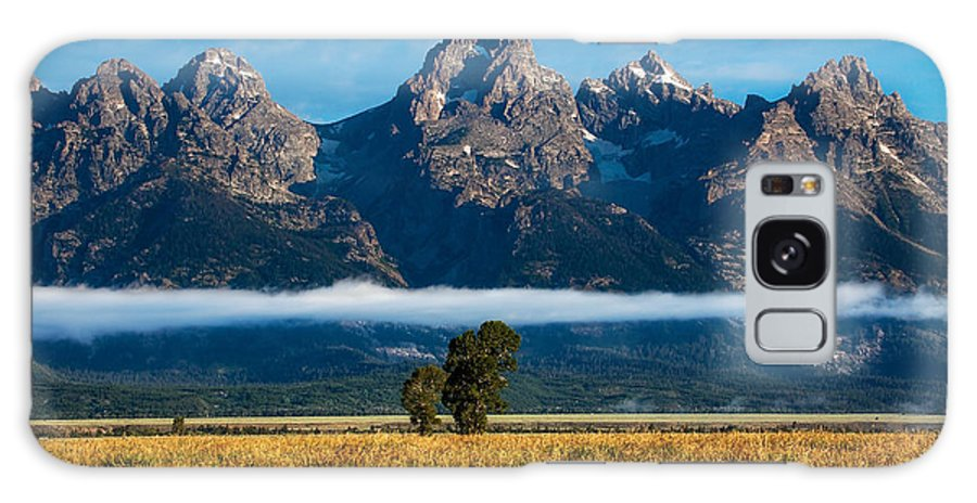Tetons Galaxy S8 Case featuring the photograph Lenticular Tetons by Kirk Strickland