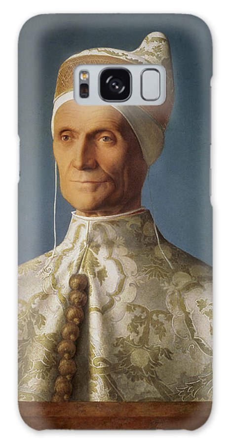 Portrait Galaxy S8 Case featuring the photograph Leonardo Loredan 1436-1521 Doge Of Venice From 1501-21, C.1501 Oil On Panel by Giovanni Bellini
