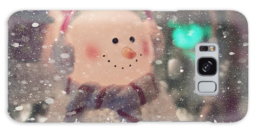 Holiday Galaxy S8 Case featuring the photograph Let It Snow by Karen Hunnicutt-Meyer