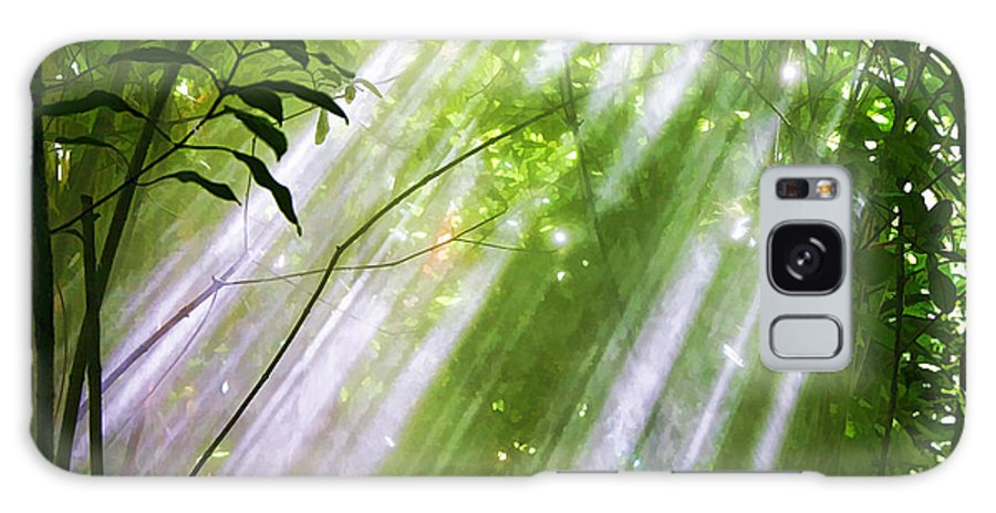 Nature Galaxy S8 Case featuring the photograph Let There Be Light by Chuck Kuhn