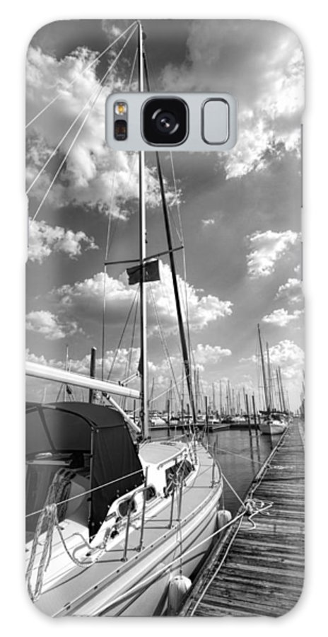 Georgia Galaxy S8 Case featuring the photograph Let's Go Sailing by Kathy Clark