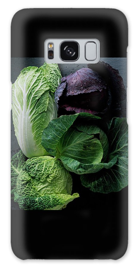 Fruits Galaxy S8 Case featuring the photograph Lettuce by Romulo Yanes