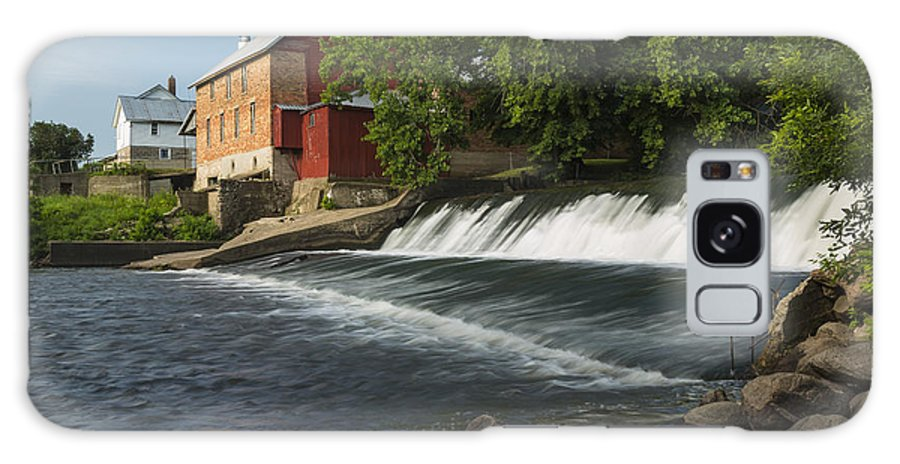 Grist Galaxy S8 Case featuring the photograph Lidtke Mill 1 A by John Brueske