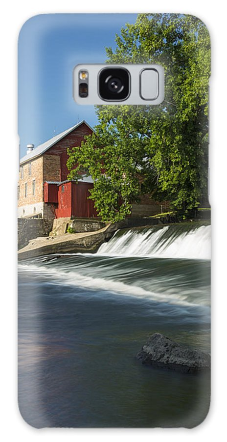 Grist Galaxy S8 Case featuring the photograph Lidtke Mill 3 by John Brueske