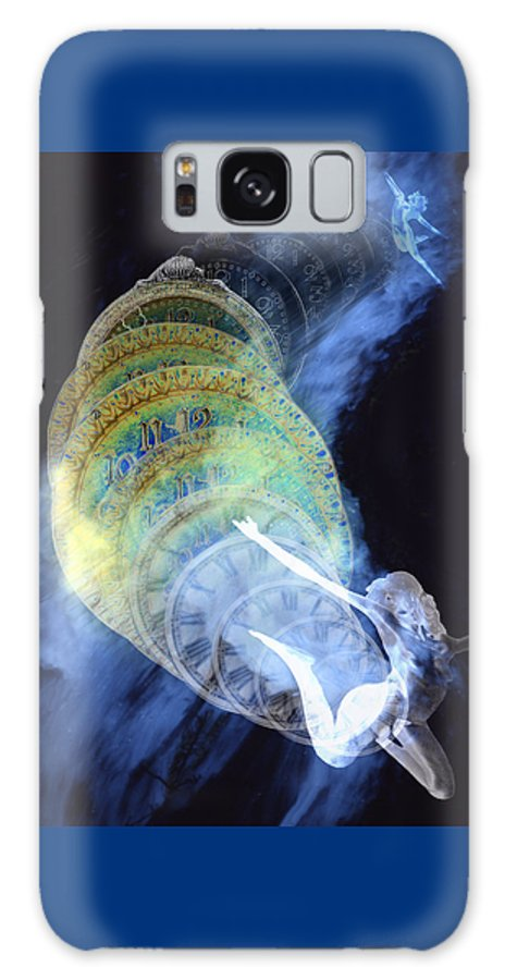 Life Cycle Galaxy S8 Case featuring the digital art Life Cycle by Lisa Yount