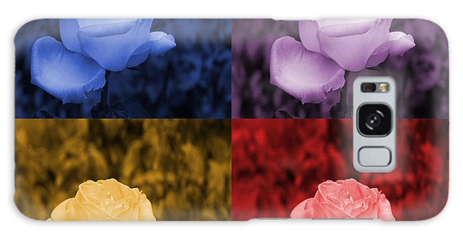 Roses Galaxy S8 Case featuring the photograph Life's Colors by Karen Skinner
