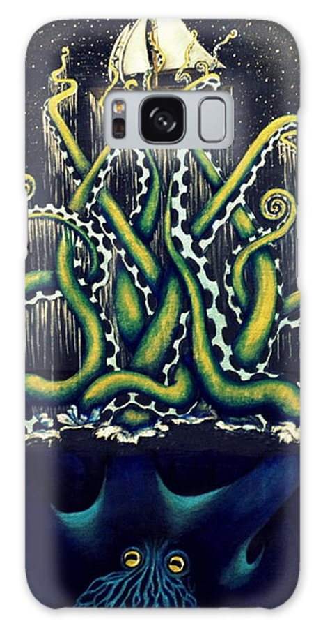 Lift Galaxy S8 Case featuring the painting Lift Me Up by Sweet Colene Art