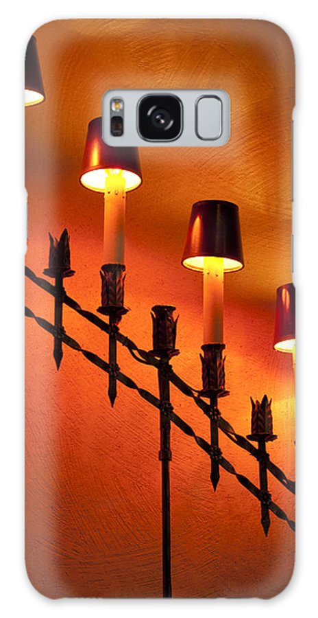 Lamps Galaxy S8 Case featuring the photograph Light Cascade by Clifford Beck