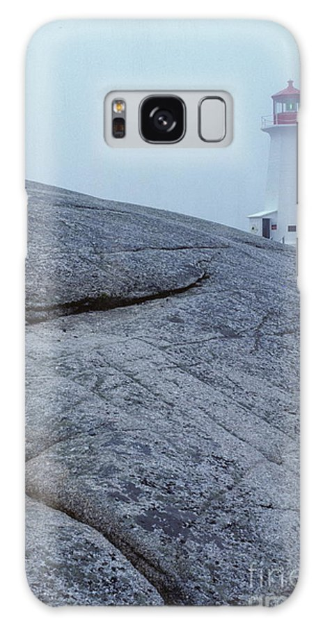 #peggys Cove Nova Scotia Galaxy S8 Case featuring the photograph Light House At Peggys Cove Nova Scotia by Cyril Furlan