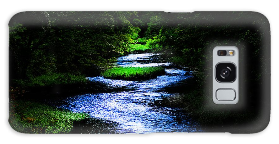 Creek Galaxy S8 Case featuring the photograph Light In The Creek by Randall Branham