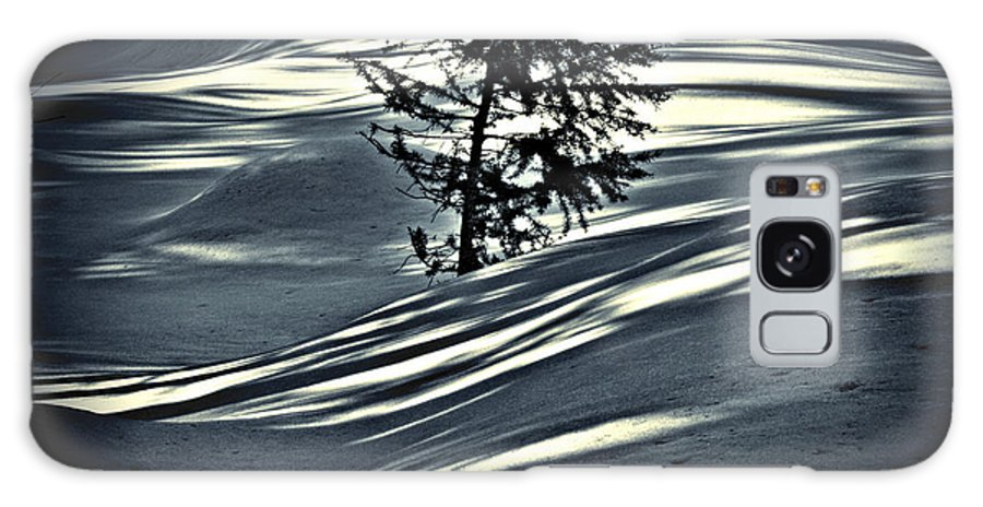 Sunlight Galaxy S8 Case featuring the photograph Light On The Snow by Janie Johnson