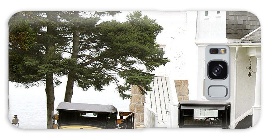 Isle Au Haut Light Galaxy S8 Case featuring the photograph Light Stands Time by Zanda K Gutek
