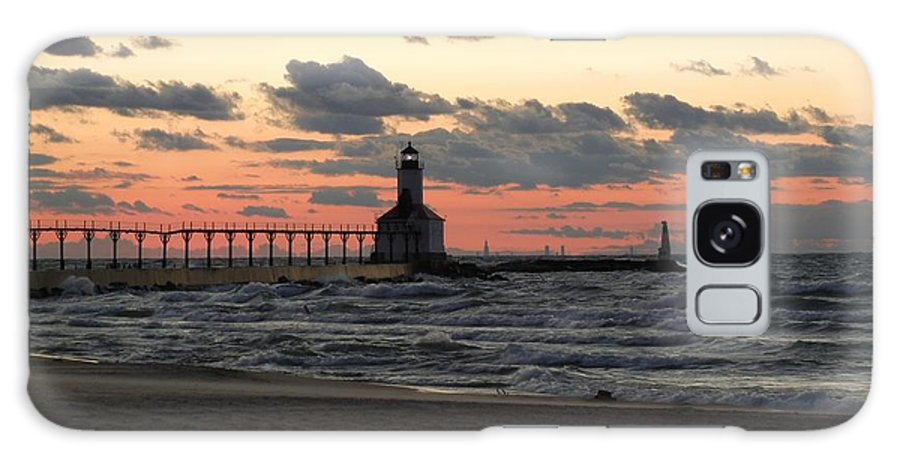 Lighthouse Galaxy S8 Case featuring the photograph Lighthouse by Amy Imperato