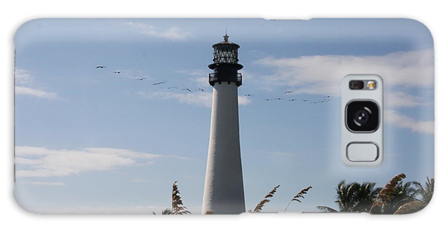 Ligthouse Galaxy S8 Case featuring the photograph Ligthouse - Key Biscayne by Christiane Schulze Art And Photography