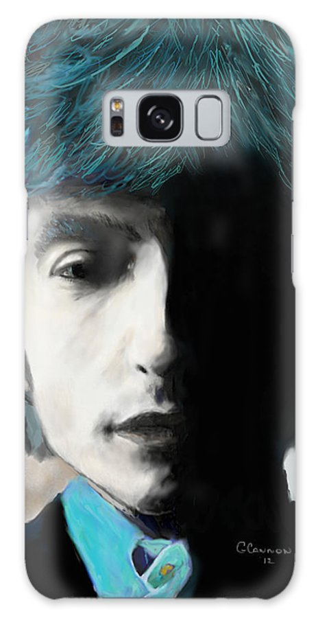 Bob Dylan Galaxy S8 Case featuring the mixed media Like A Rolling Stone by G Cannon