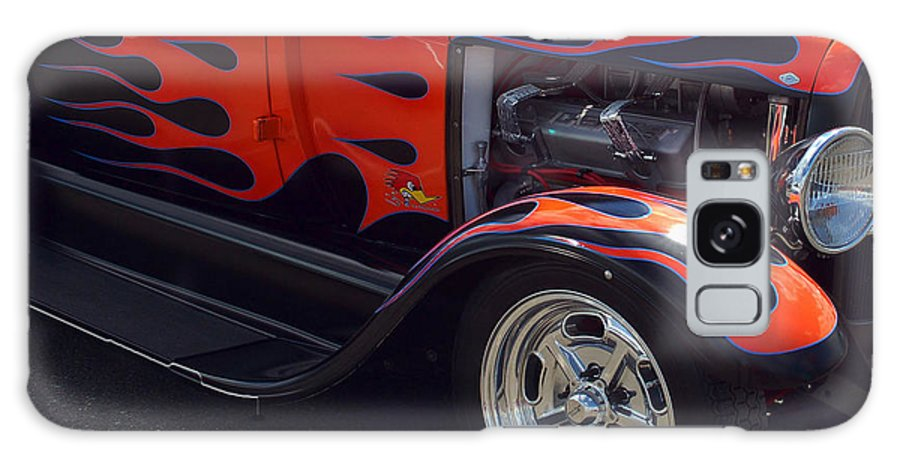 Hot Rod Galaxy S8 Case featuring the photograph Lil Duece Coupe by Ron Roberts