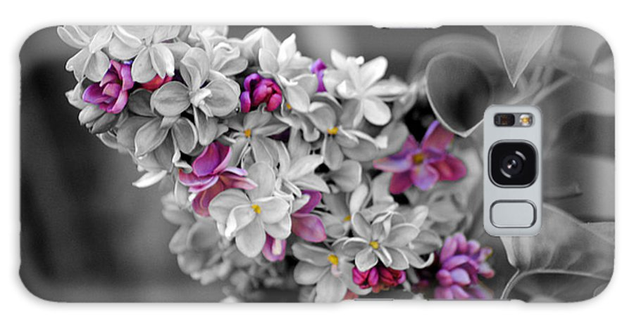 Lilac Galaxy S8 Case featuring the photograph Lilac Flowers by Jai Johnson