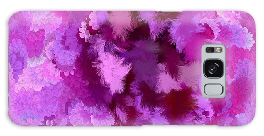Flowers Galaxy S8 Case featuring the digital art Lilac Of The Valley by Holley Jacobs