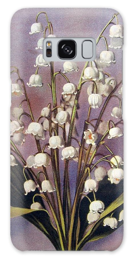 #flowers #vintagephotography Galaxy S8 Case featuring the photograph Lily Of The Valley by Florinel Nicolai Deciu