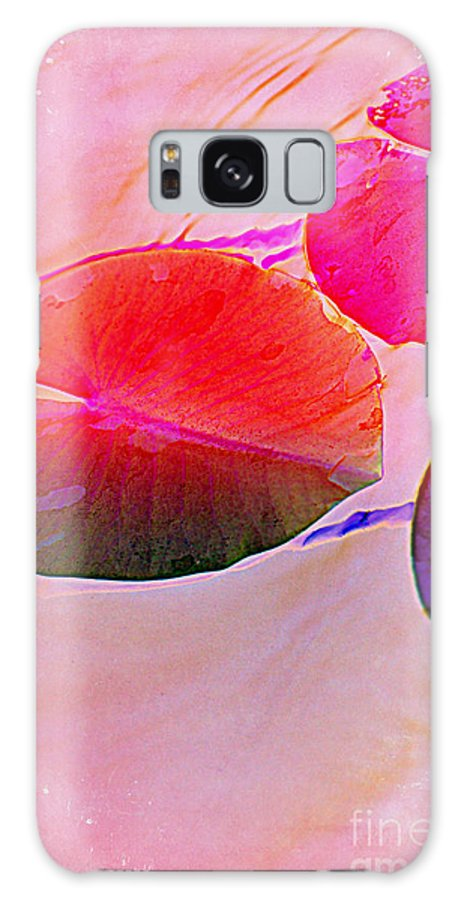 Pastel Pad Galaxy S8 Case featuring the photograph Lily Pad 3 by Susanne Van Hulst