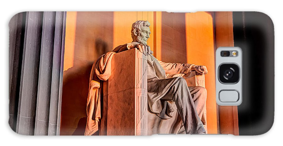 Abraham Lincoln Galaxy S8 Case featuring the photograph Lincoln by Walt Baker
