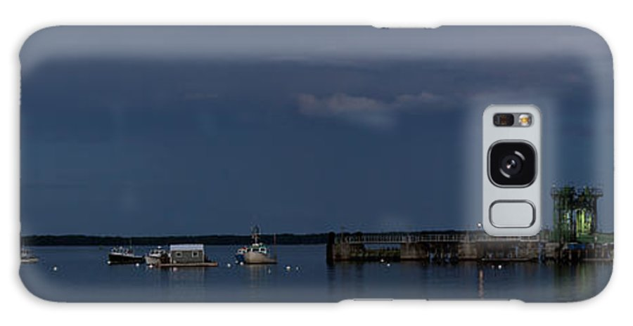 Low Light Galaxy S8 Case featuring the photograph Lincolnville Ferry Evening by Mark Schumpert