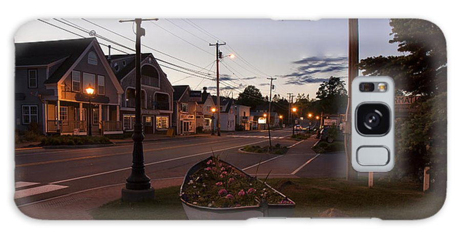 Coastal Galaxy S8 Case featuring the photograph Lincolnville Maine by Mark Schumpert