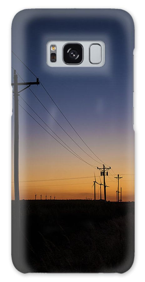 Sunset Galaxy S8 Case featuring the photograph Linear by Bailey Barry