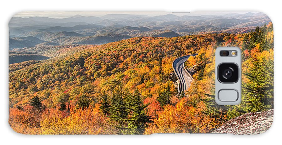 Linn Cove Viaduct Galaxy S8 Case featuring the photograph Linn Cove Viaduct by Pierre Leclerc Photography