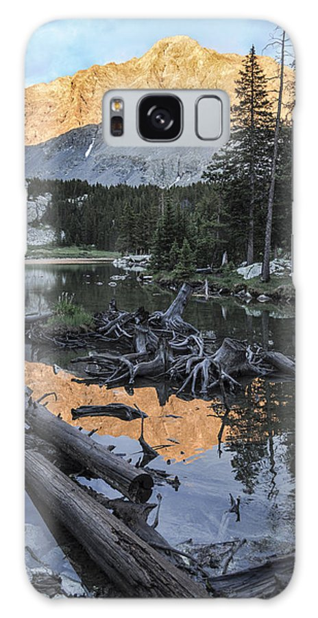 Colorado Galaxy S8 Case featuring the photograph Little Bear Peak Reflection by Aaron Spong
