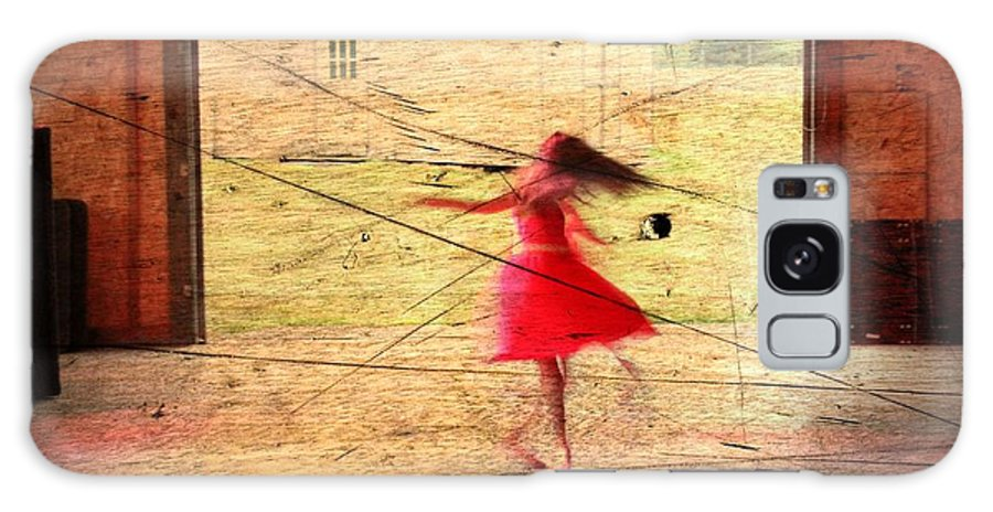 Dance Galaxy S8 Case featuring the photograph Little Girl Dancing by Frank Salvaggio
