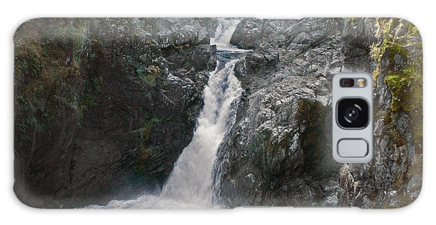 Water Galaxy S8 Case featuring the photograph Little Qualicum River Falls Vancouver Island Bc by Ralph Brunner