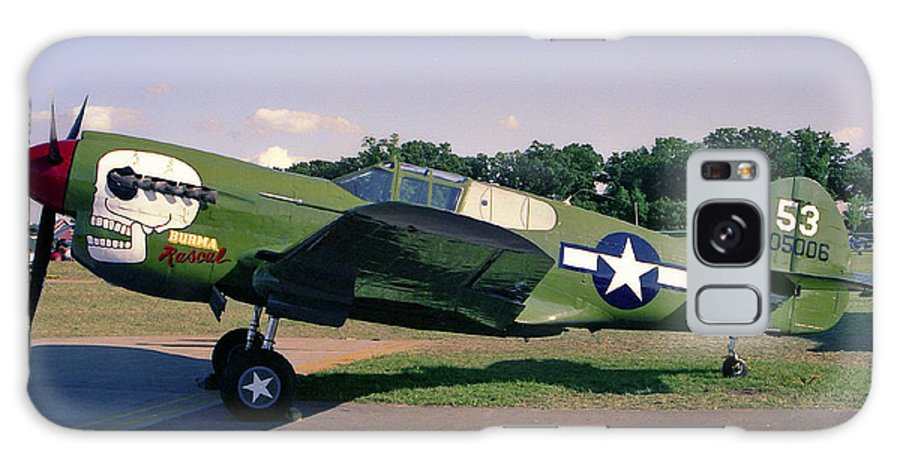 Curtis P-40 Warhawk Galaxy S8 Case featuring the photograph Little Rascal by Tommy Anderson