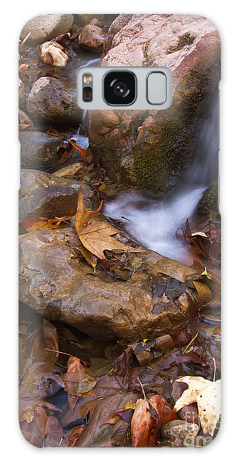 Arizona Galaxy S8 Case featuring the photograph Little Stream by Bryan Keil