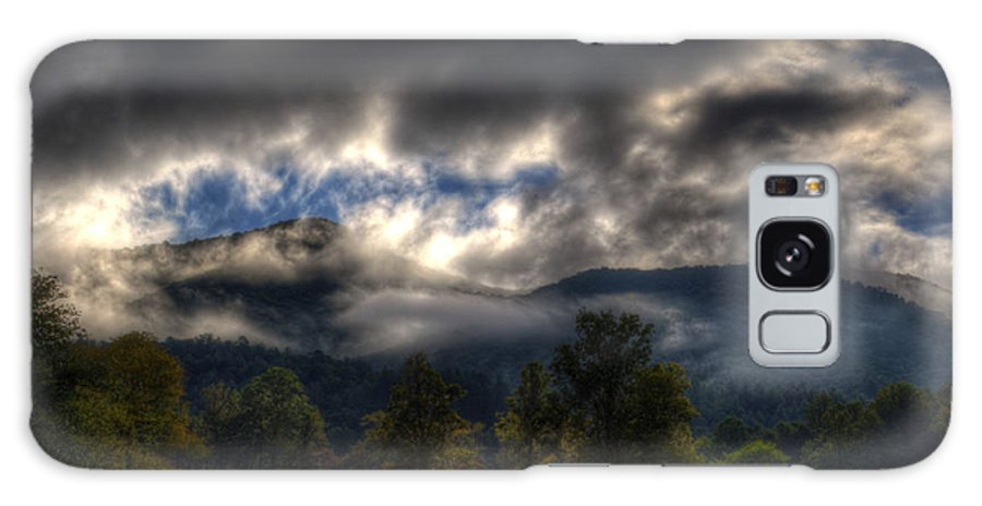 Western North Carolina Galaxy S8 Case featuring the photograph Living In The Clouds Of Western North Carolina by Greg and Chrystal Mimbs