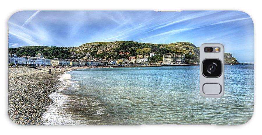 Beach Galaxy S8 Case featuring the photograph Llandudno Beach by Svetlana Sewell