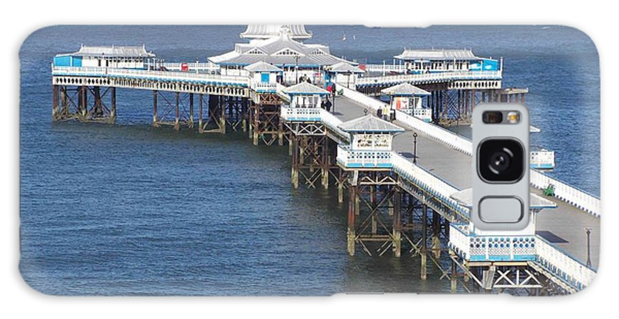 Piers Galaxy S8 Case featuring the photograph Llandudno Pier by Christopher Rowlands