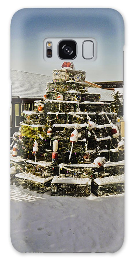 Winter Galaxy S8 Case featuring the photograph Lobster Pot Christmas Tree 3 by Dennis Coates