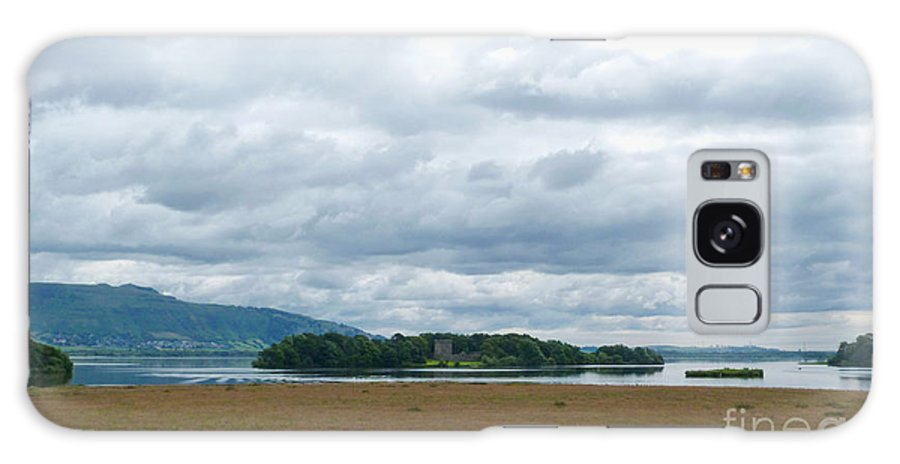 Loch Leven Galaxy S8 Case featuring the photograph Loch Leven Island by Phil Banks