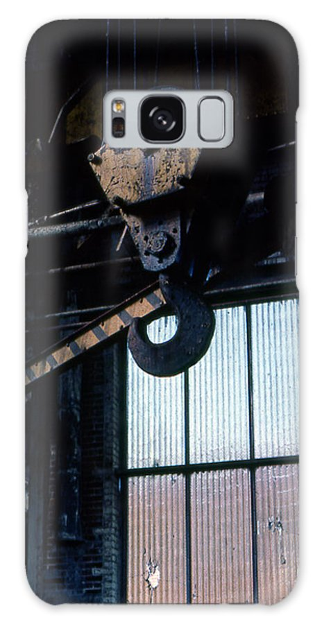 Hooks Galaxy S8 Case featuring the photograph Locomotive Hook by Richard Rizzo