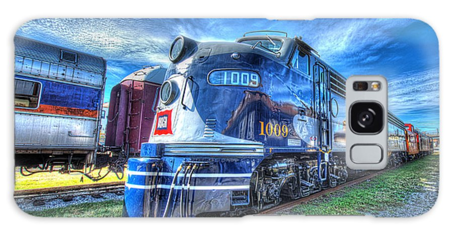 Historic Galaxy S8 Case featuring the photograph Locomotive Wabash E8 No 1009 by Greg Hager