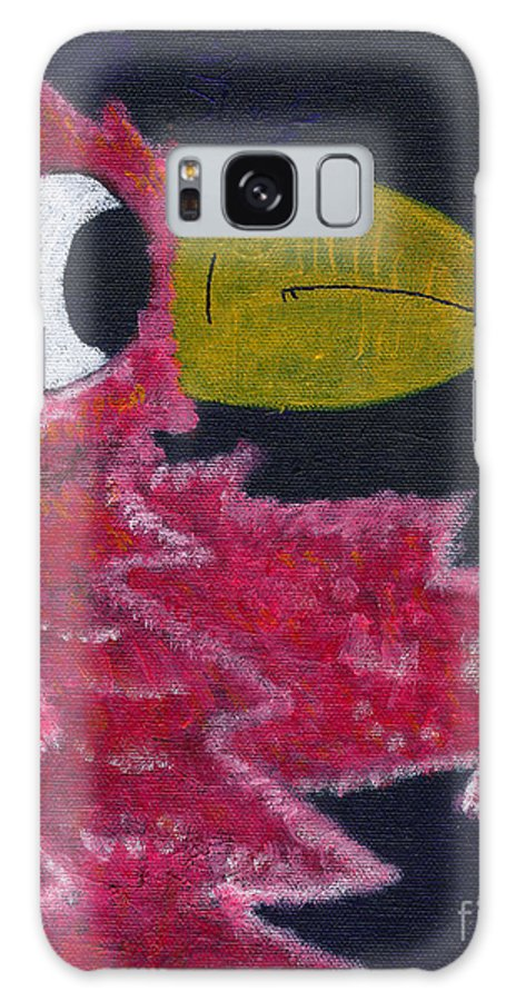 Lola Galaxy S8 Case featuring the painting Lola by Michael Mooney