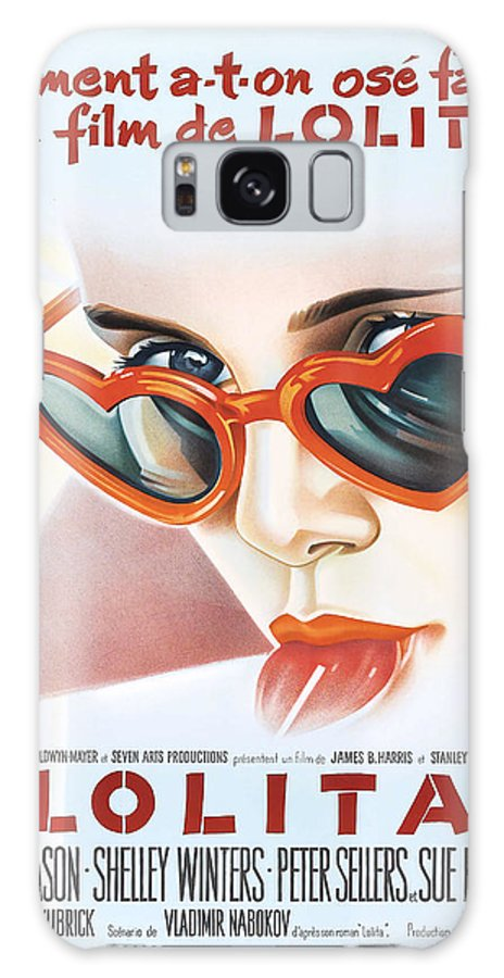 Movie Galaxy S8 Case featuring the photograph Lolita Poster by Gianfranco Weiss