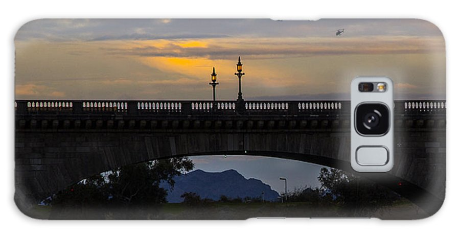 Lake Havasu City Galaxy S8 Case featuring the photograph London Bridge by Angus Hooper Iii