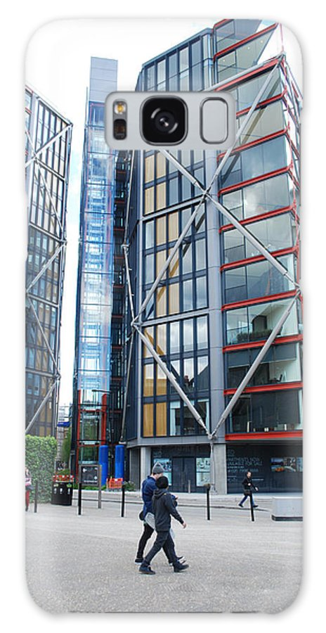 Reflections Galaxy S8 Case featuring the photograph London Buildings 1 by Robert Johnson