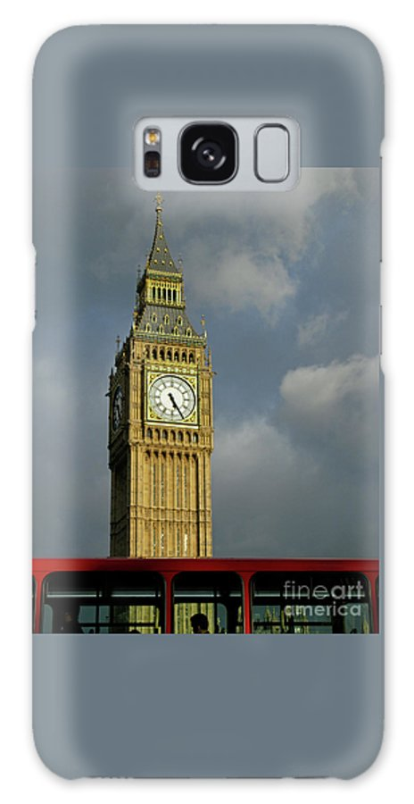 London Icons By Ann Horn Galaxy Case featuring the photograph London Icons by Ann Horn