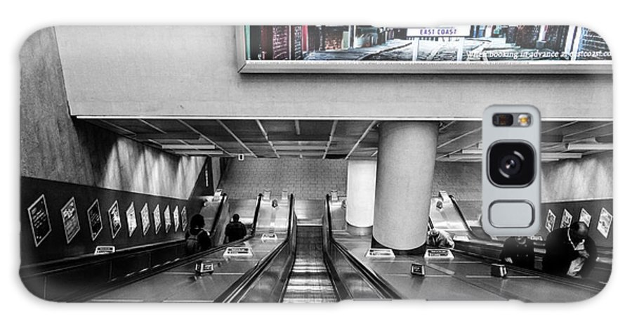 England Galaxy S8 Case featuring the photograph London.underground by Roland Bedernik