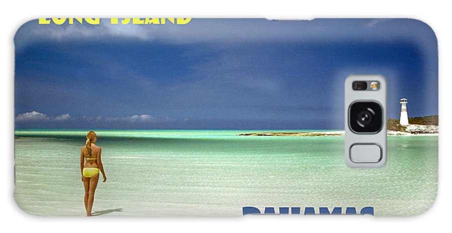 Long Island Galaxy S8 Case featuring the photograph Long Island Bahamas by Michael Moore