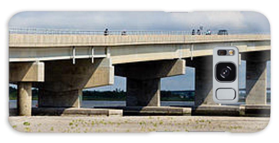 Bridge Galaxy S8 Case featuring the photograph Longport Bridge by Tom Gari Gallery-Three-Photography